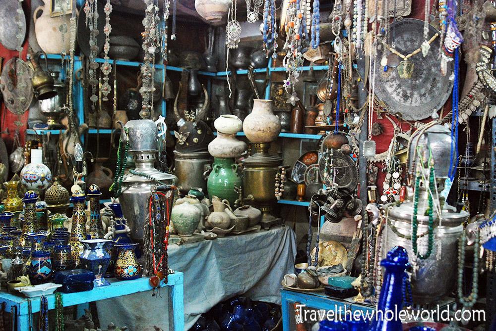 Afghanistan Herat Antique Shop
