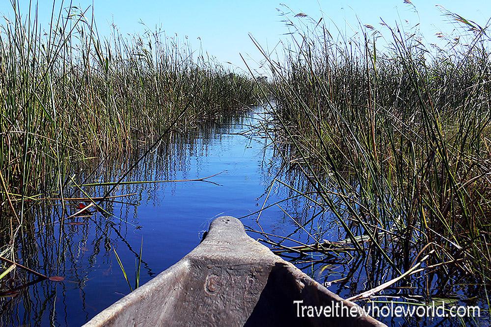 Botswana Okavango Delta Boat Ride