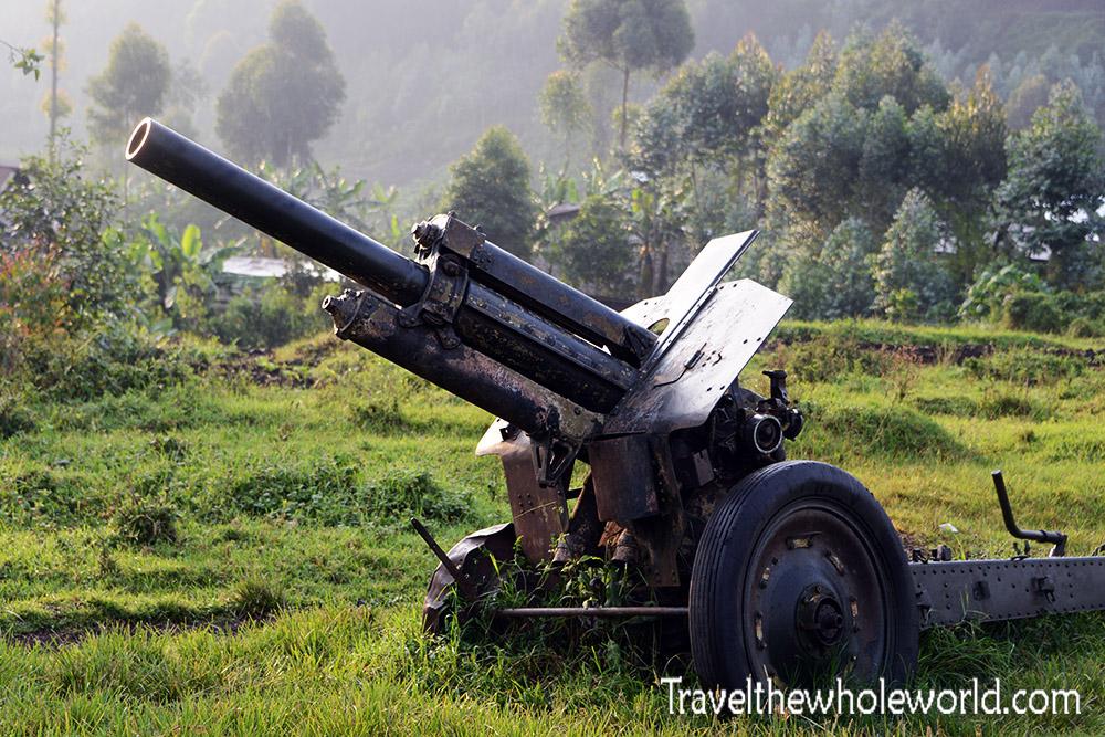 Congo Goma Artillery