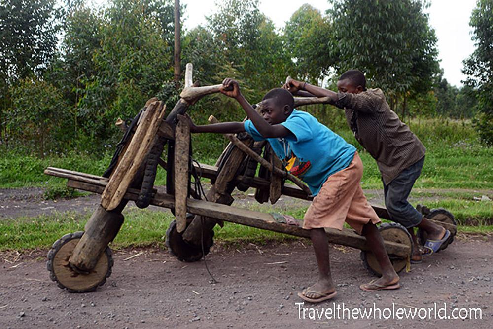 Congo Goma Kids Wooden Bikes