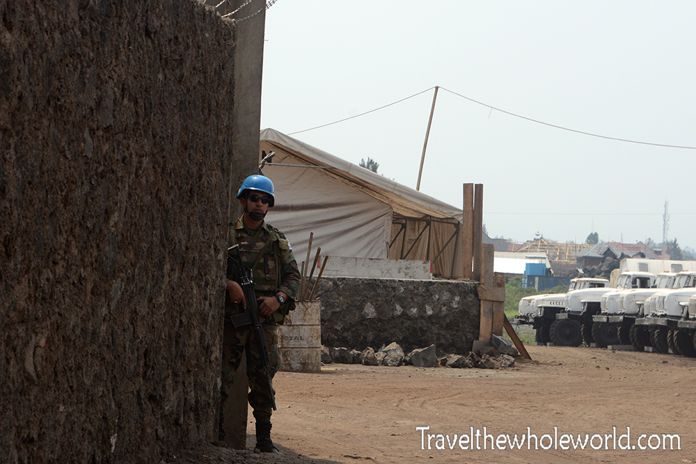 Congo-Goma UN Soldier