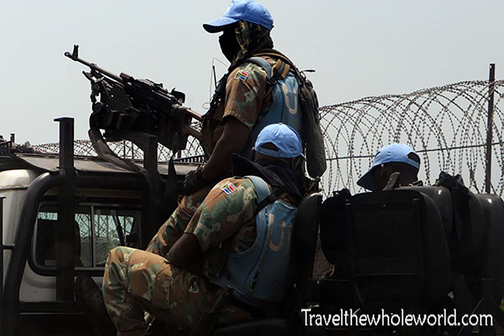 Congo Goma UN Troops