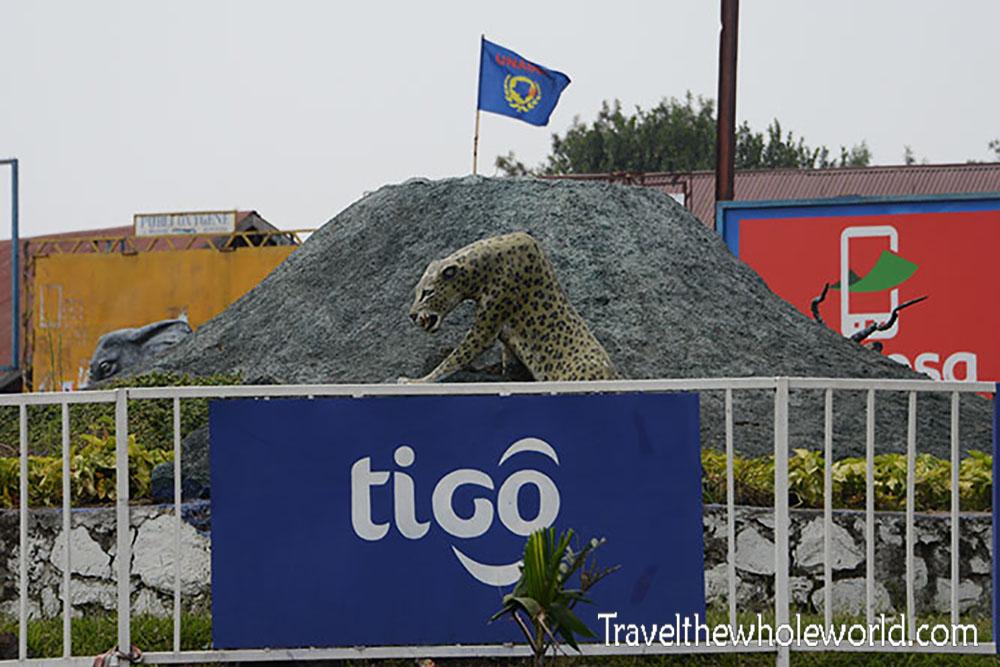Congo Goma Volcano Memorial