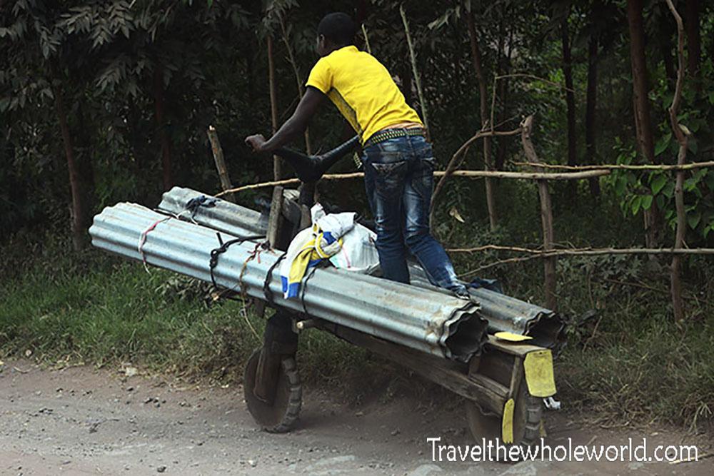 Congo Goma Wooden Bike Ride