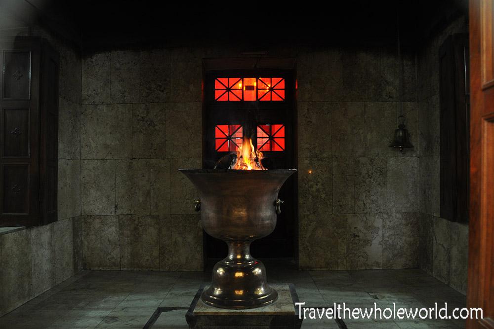 Zoroastrian Eternal Fire