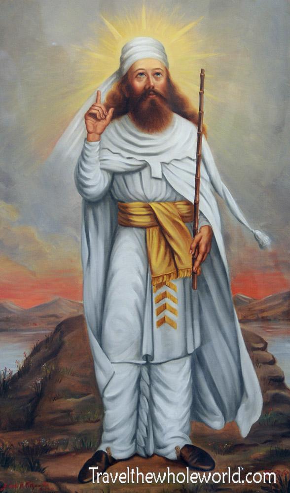 Zoroastrian Prophet Mazda