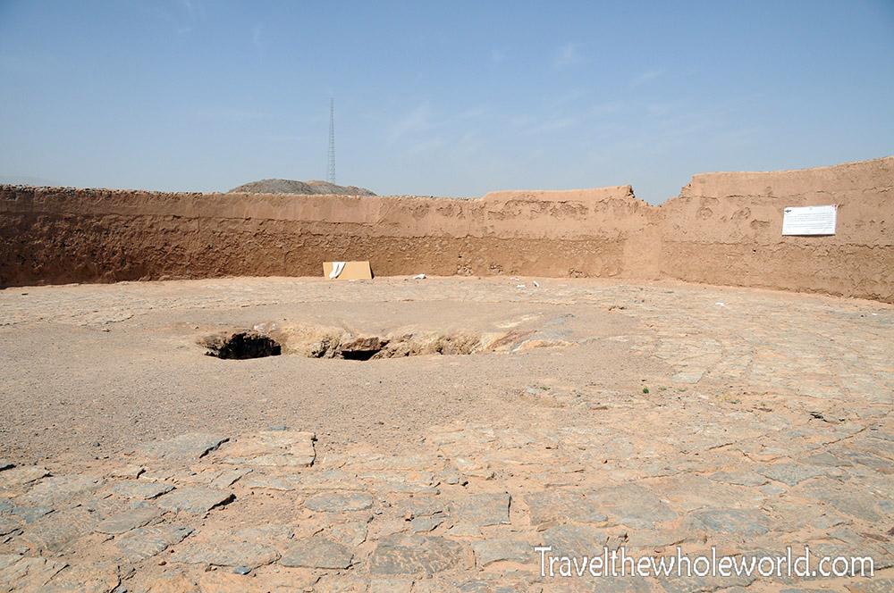 Top of Zoroastrian Temple
