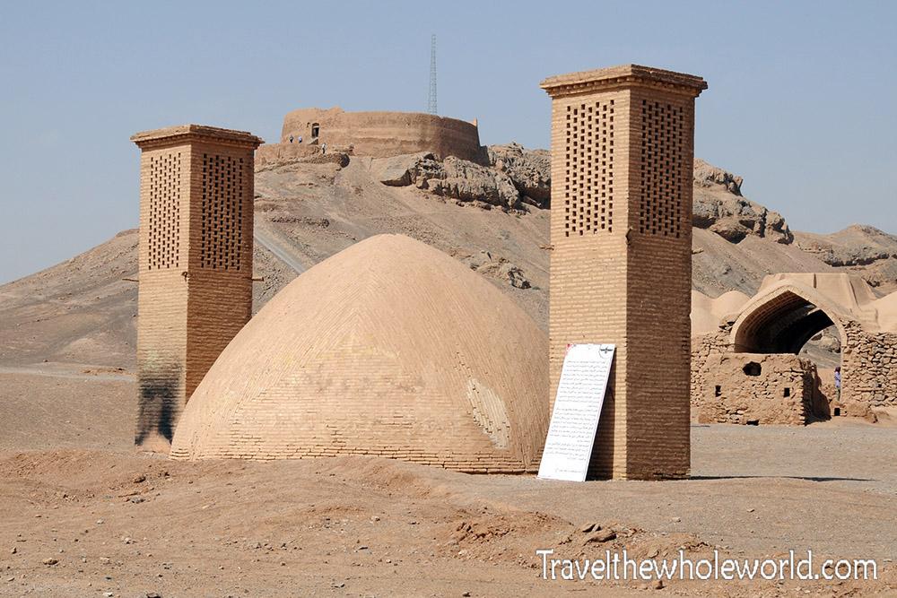 Zoroastrian Water Tanks