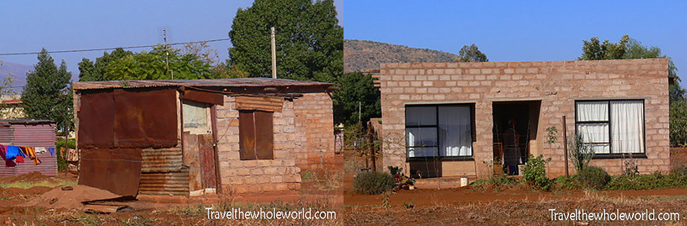 South Africa Shacks Poverty