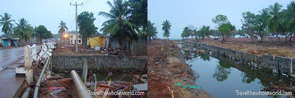 2004 Tsunami Damage Sri Lanka