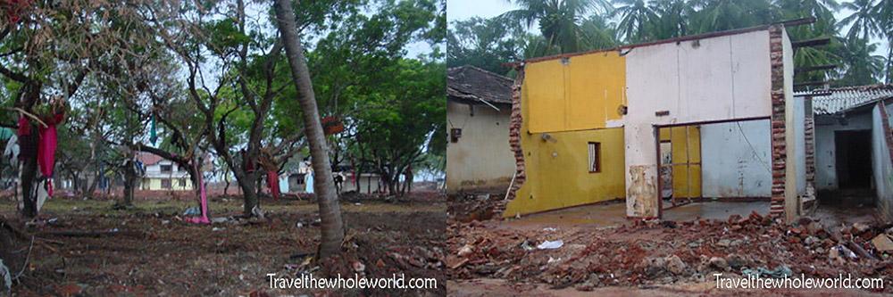 2004 Tsunami Damage