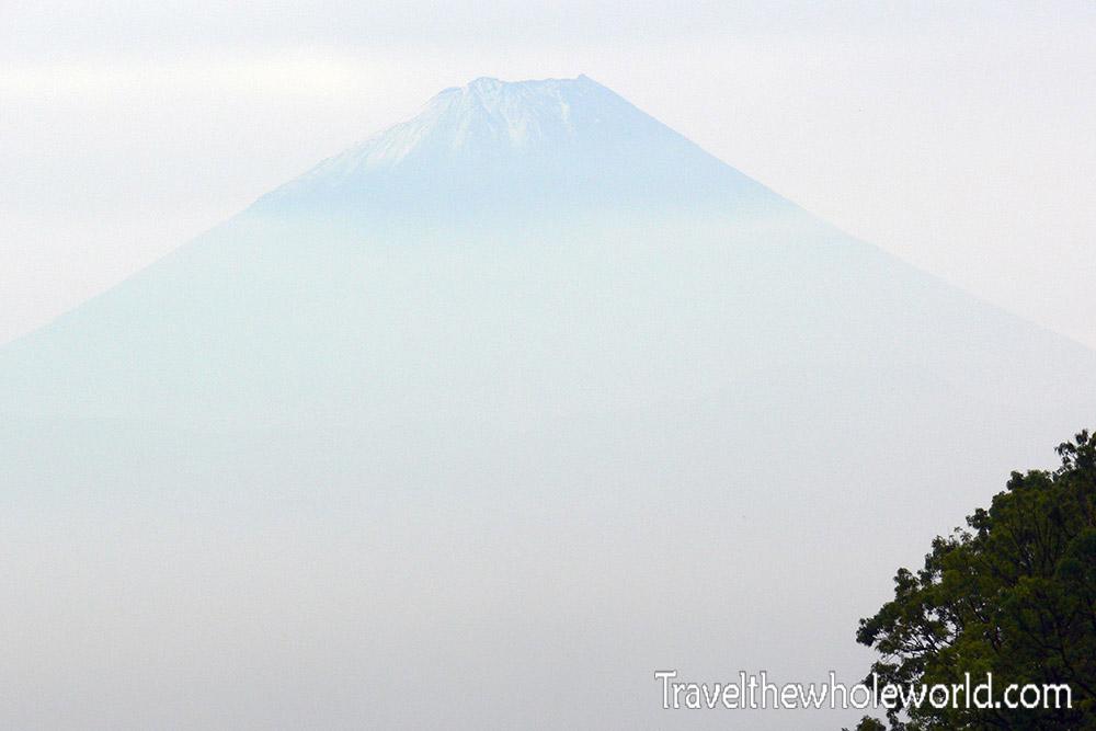 Mt. Fuji from Kofu