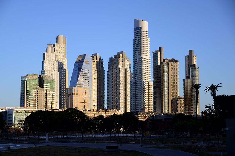 Buenos Aires Argentina Coastal Buildings