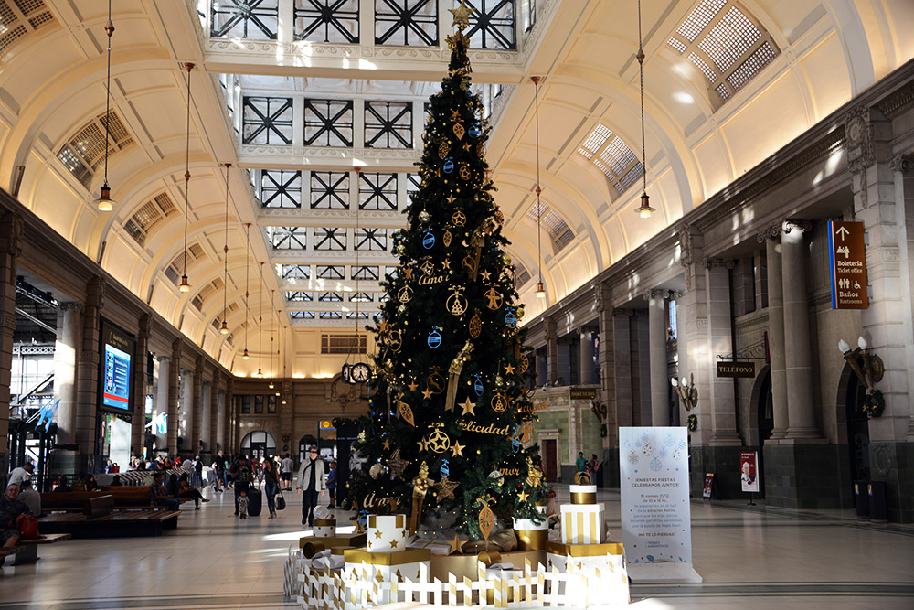 Argentina Buenos Aires Christmas Tree Mall