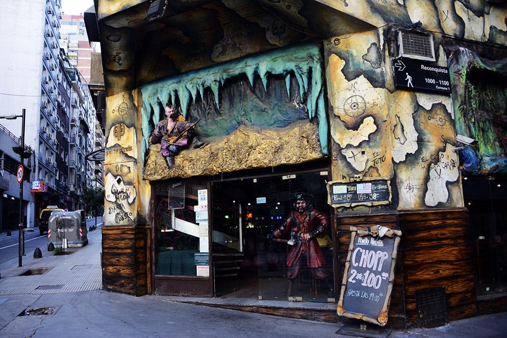 Argentina Buenos Aires Pirate Restaurant