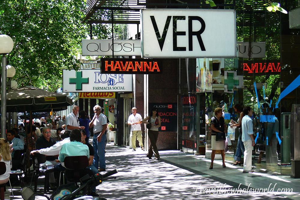 Argentina Mendoza Shops