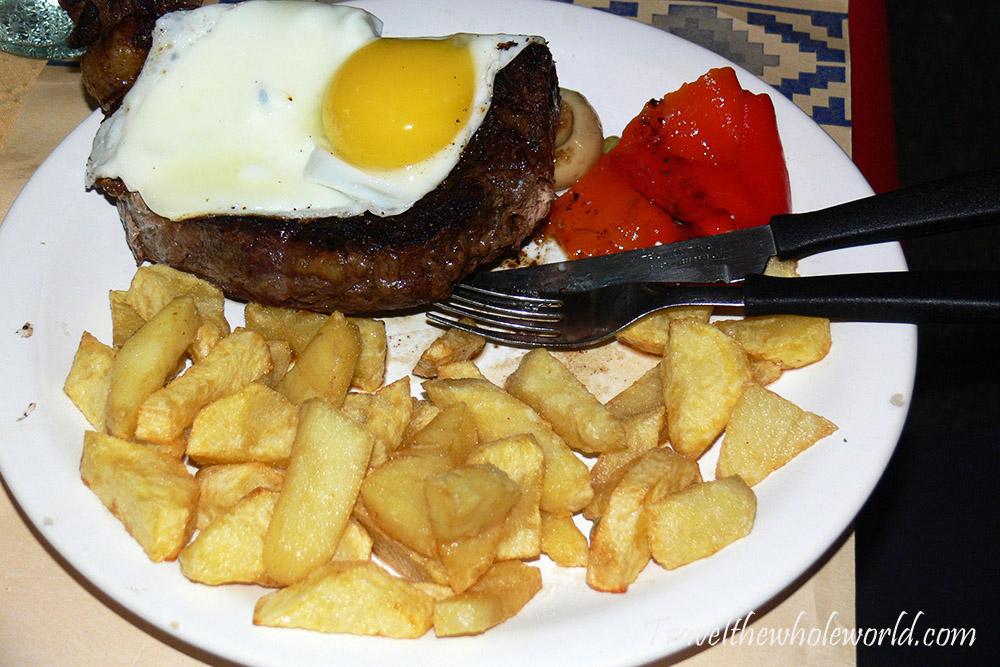Argentina Steak Dinner