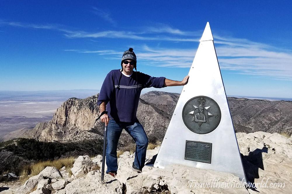 George Kashouh Guadaloupe Peak