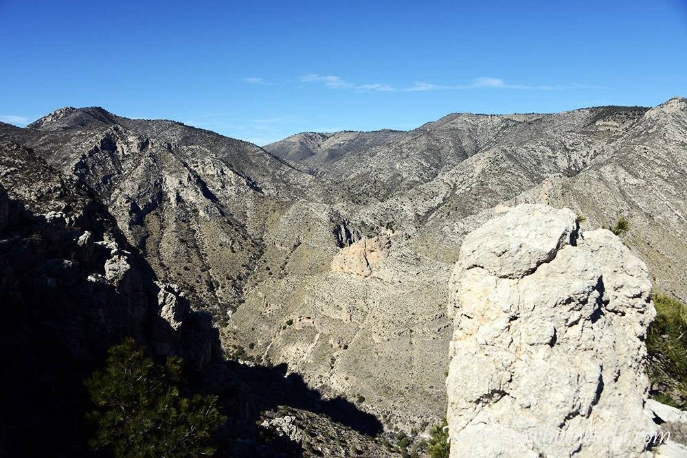 Guadaloupe Peak Halfway View