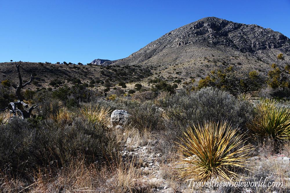 Texas Gaudaloupe peak Start