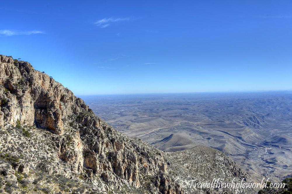 Guadaloupe Peak View
