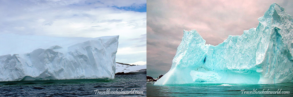 Antarctica Massive Icebergs
