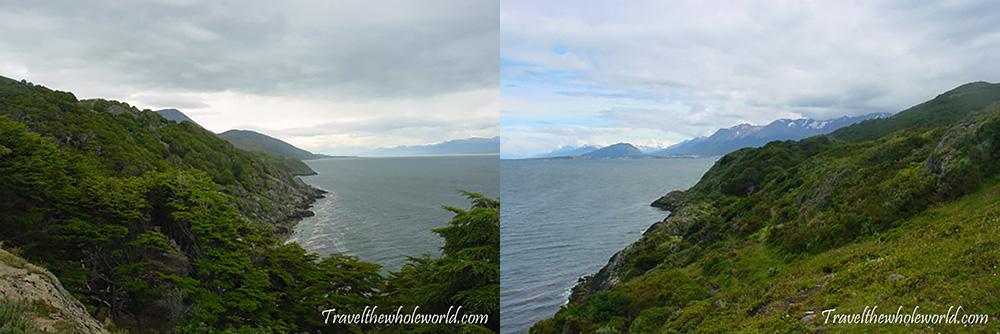 Argentina Tierra del Fuego Coastline