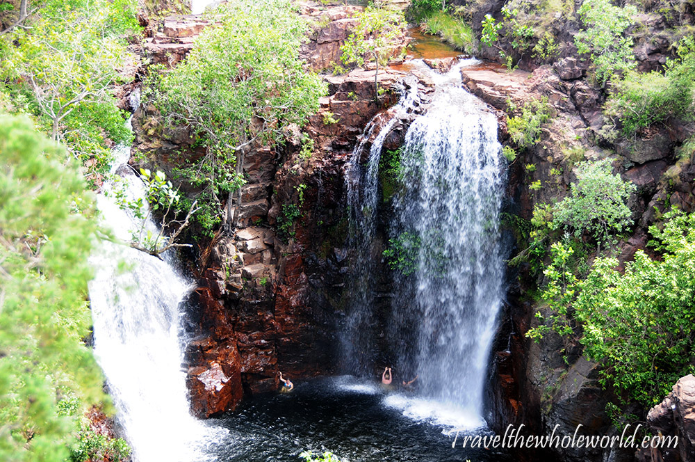 Australia Litchfield Waterfall Turner Falls
