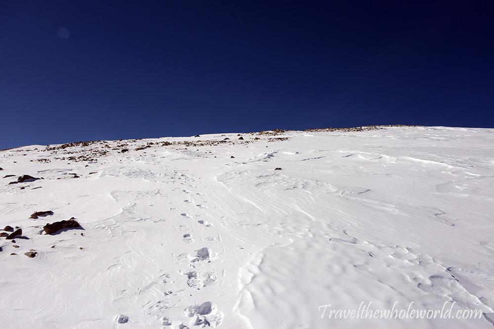 Mt. Elbert Winter Climb Clear