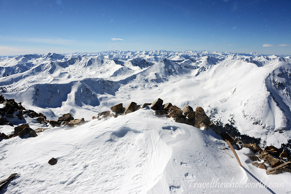 Mt. Elbert Winter Climb Start