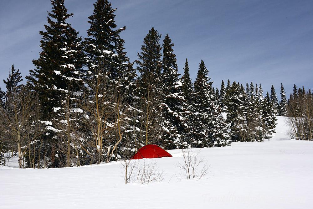 Mt. Elbert Winter Climb Tent