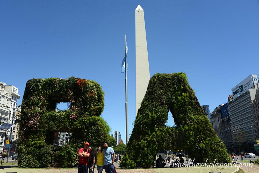 Argentina Buenos Aires Obelisk
