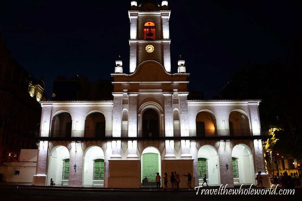 Argentina Buenos Aires Mayo Plaza Church