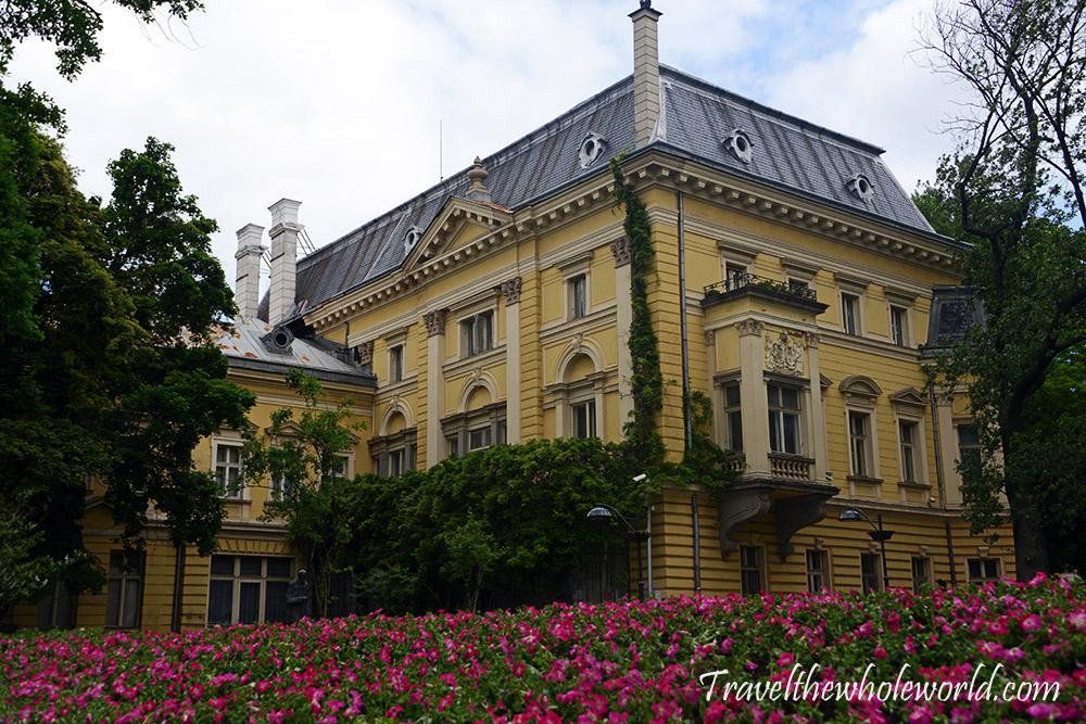 Sofia Bulgaria Flower Building
