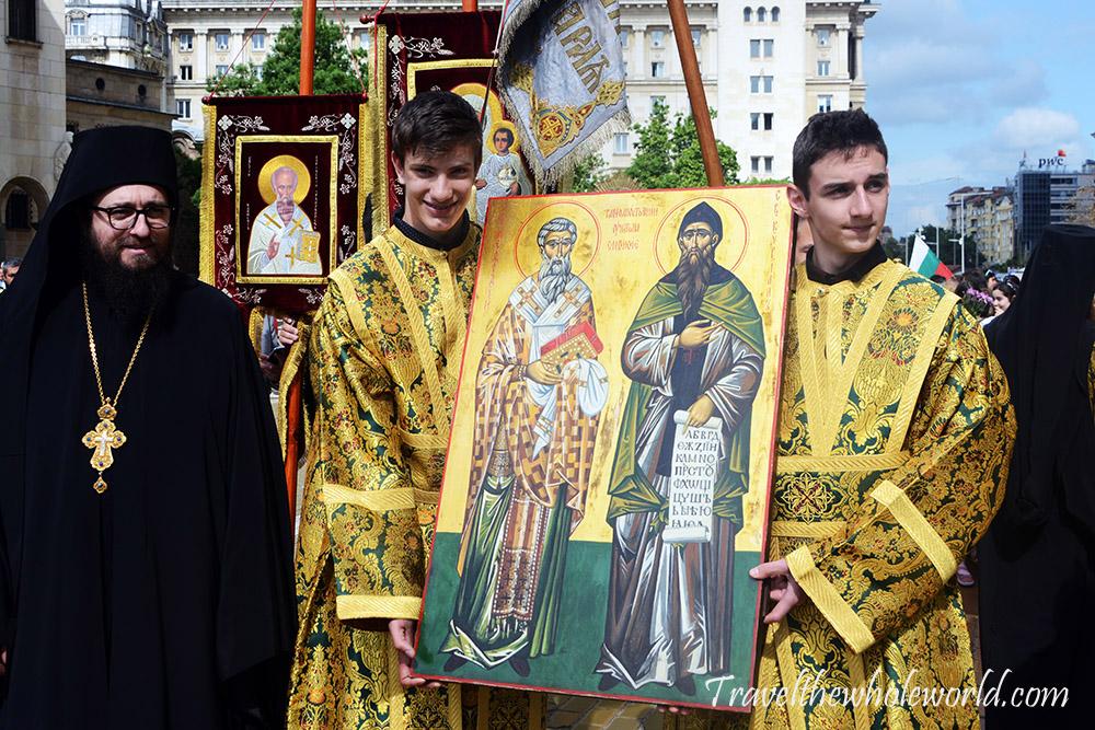 Bulgaria Sofia Orthodox Christians