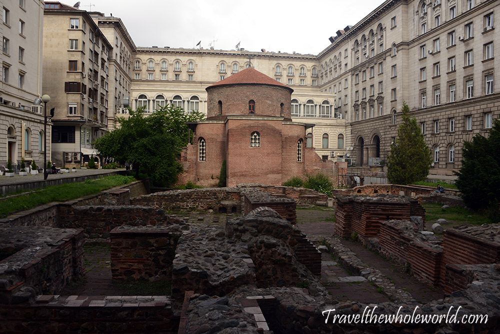 Bulgaria Sofia St George Church