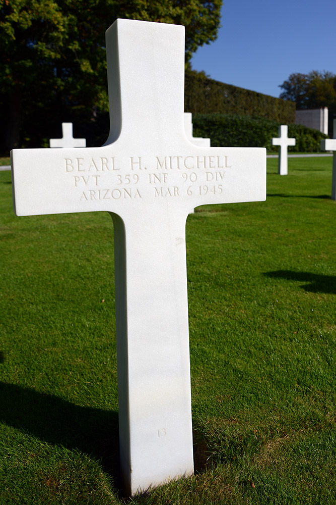 Luxembourg American Cemetery Bearl Mitchell March 6th 1945