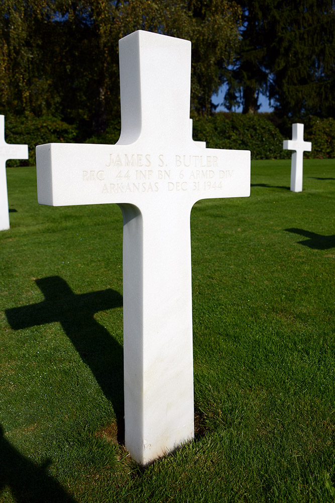 Luxembourg American Cemetery James Butler December 31st 1944