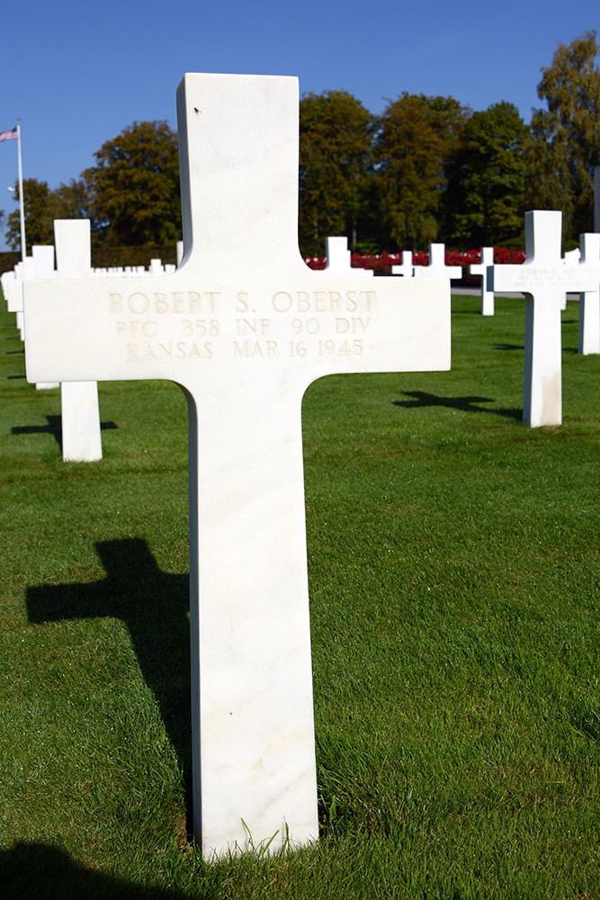 Luxembourg American Cemetery Robert Oberst March 16th 1945