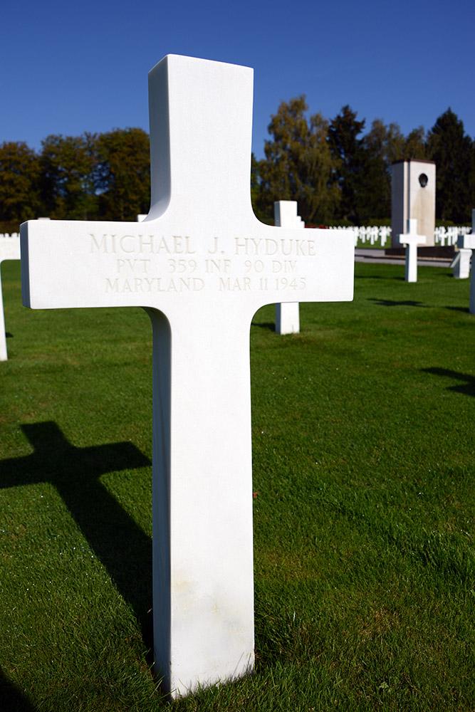 Luxembourg American Cemetery Michael Hyduke March 11 1945