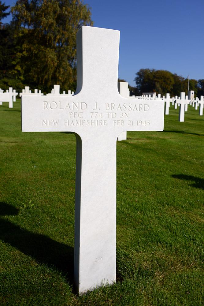 Luxembourg American Cemetery Roland Brassard February 21st 1945