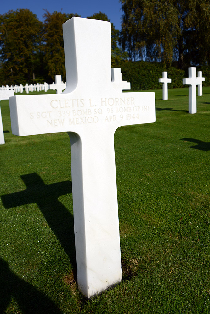 Luxembourg American Cemetery Cletis Horner April 9th 1944