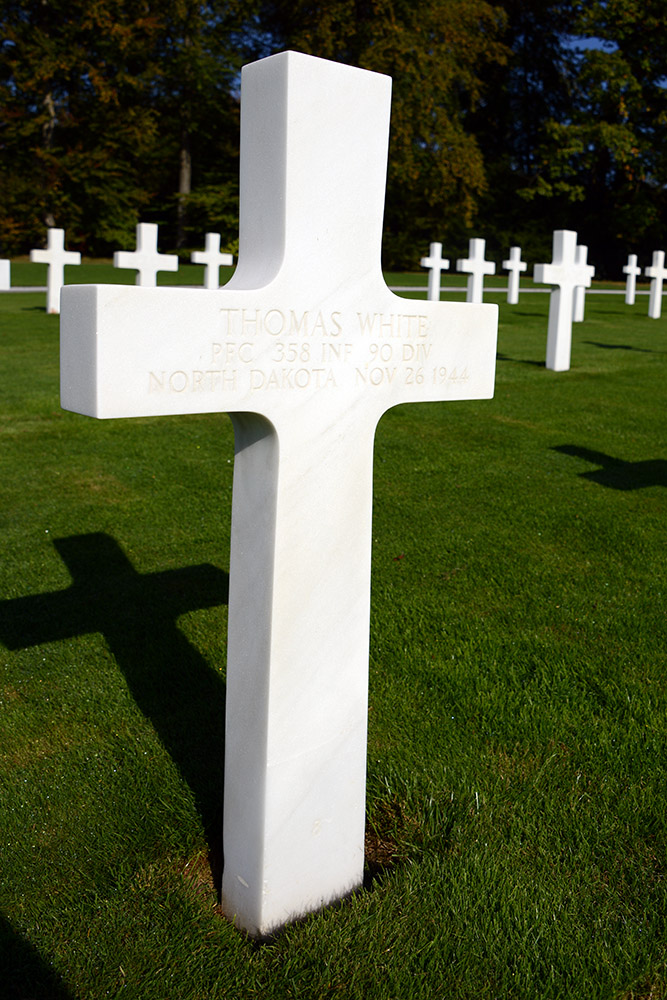 Luxembourg American Cemetery Thomas White November 26th 1944