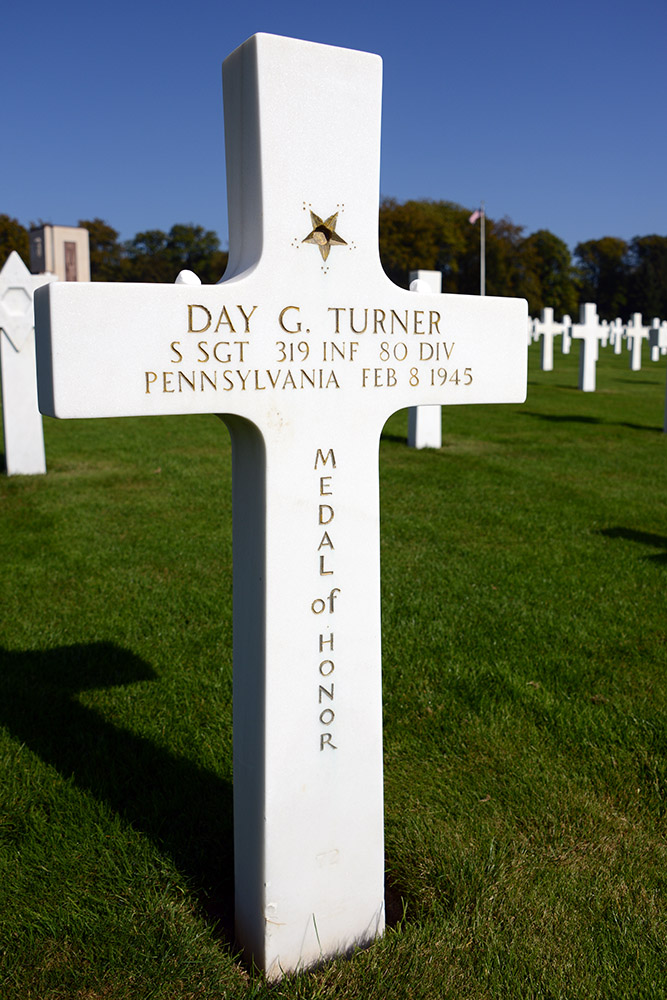 Luxembourg American Cemetery Day Turner February 8th 1945