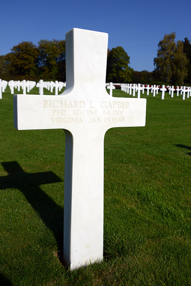 Luxembourg American Cemetery Richard Garber January 15th 1945