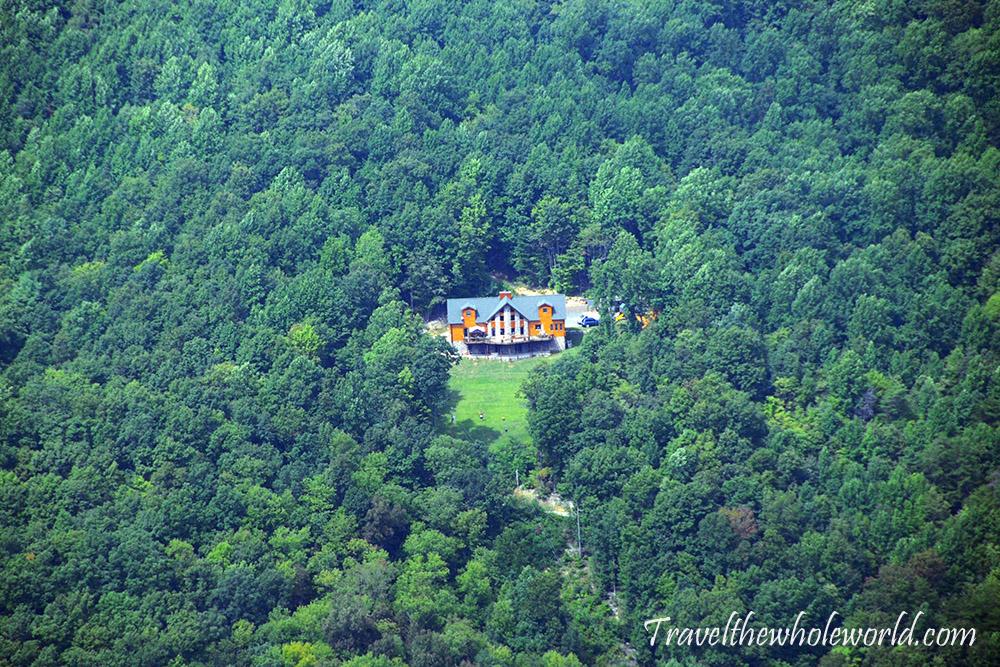 Virginia Appalachian Trail McAfee Knob Mansion