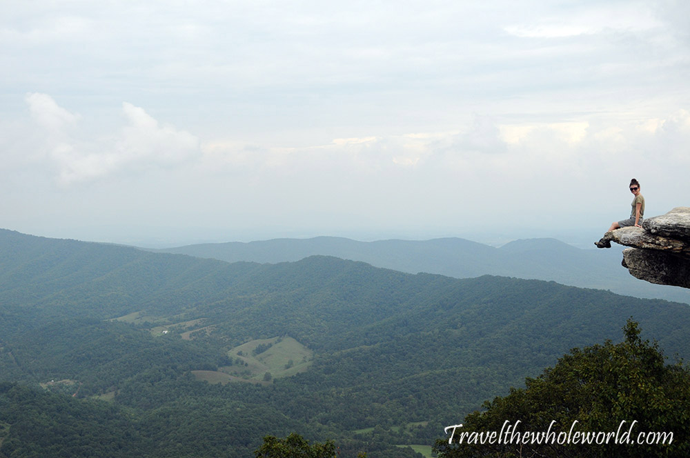 Virginia Appalachian Trail McAfee Knob Summit