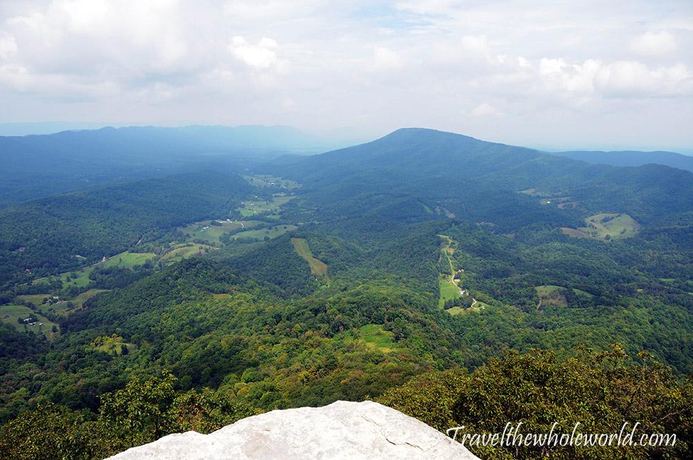 Virginia Appalachian Trail McAfee Knob View