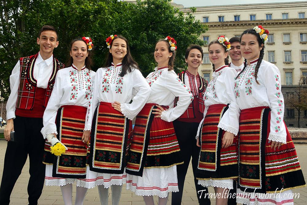 Bulgaria Sofia May 24th Dancers
