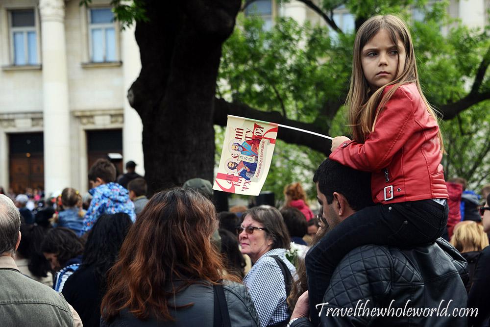 Bulgaria Sofia May 24th Celebrations